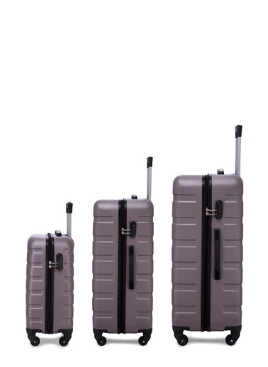 Buratti Buratti 3'Lü Unisex Valiz Set 533TITANIC Renkli